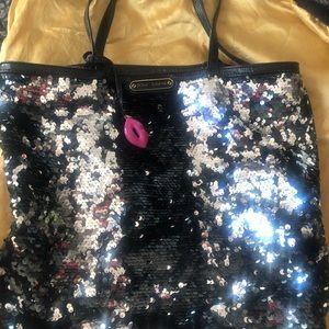 Disco Glitter - Betsy Johnson black and Silver